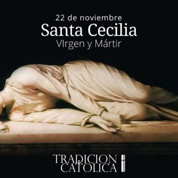 22 de noviembre: Santa Cecilia