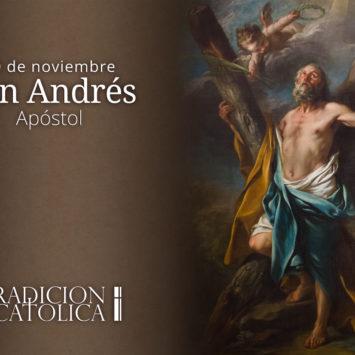 30 de noviembre: San Andrés