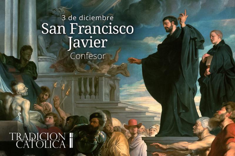 3 de diciembre: San Francisco Javier