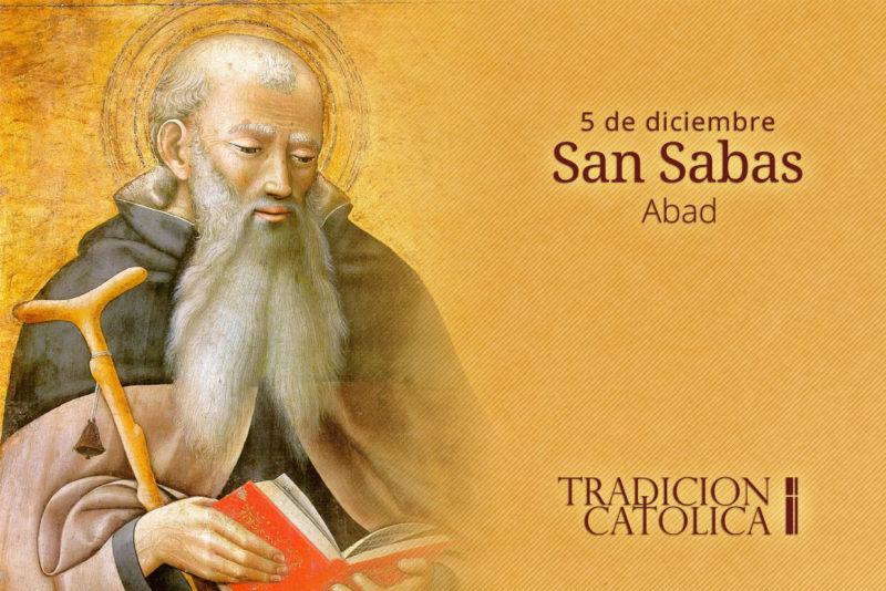 5 de diciembre: San Sabas