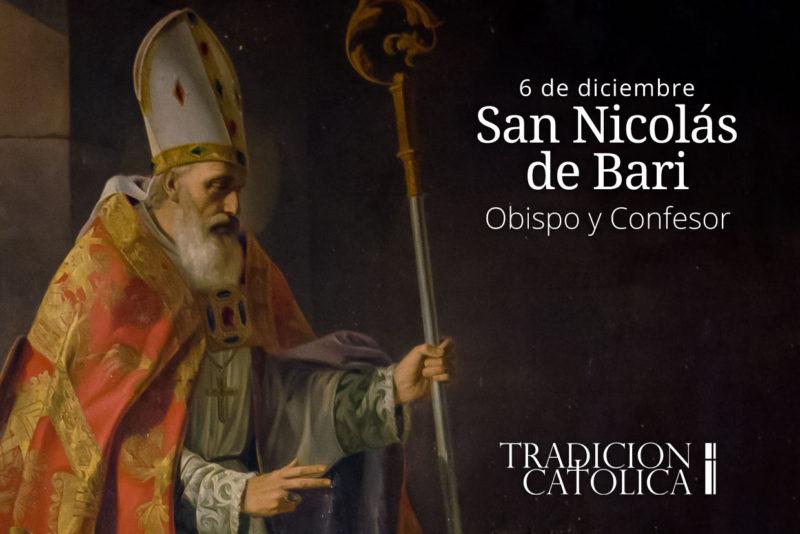 6 de diciembre: San Nicolás de Bari