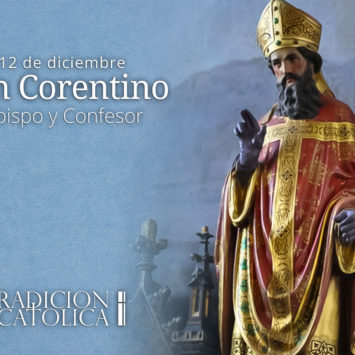 12 de diciembre: San Corentino
