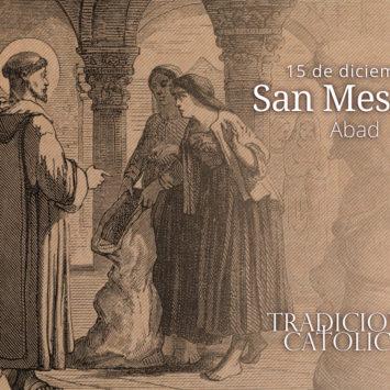 15 de diciembre: San Mesmín