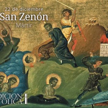 22 de diciembre: San Zenón