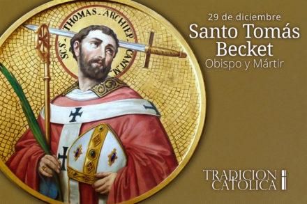 29 de diciembre: Santo Tomás Becket