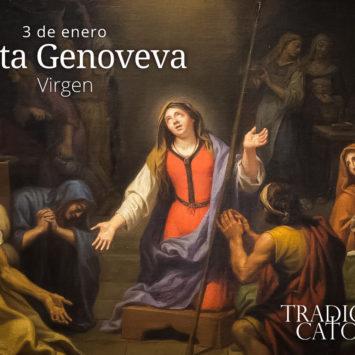 3 de enero: Santa Genoveva