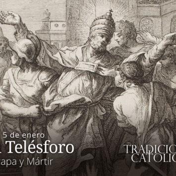 5 de enero: San Telésforo