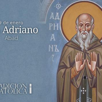 9 de enero: San Adriano