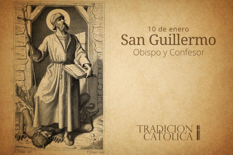10 de enero: San Guillermo
