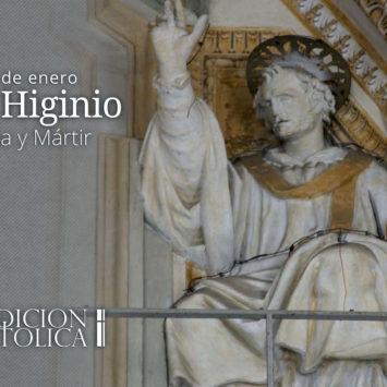 11 de Enero: San Higinio