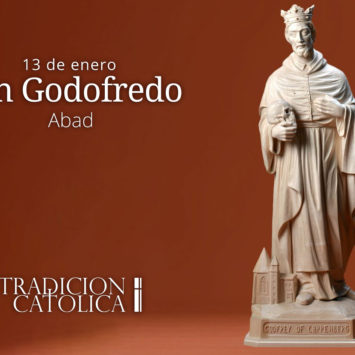 13 de enero: San Godofredo
