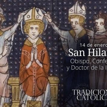 14 de enero: San Hilario