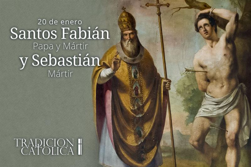 20 de enero: Santos Fabián y Sebastián
