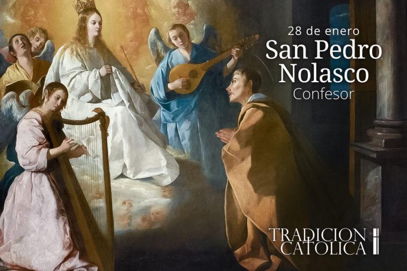 28 de enero: San Pedro Nolasco