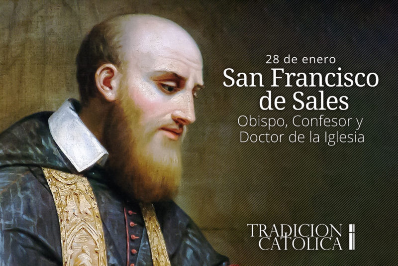 29 de enero: San Francisco de Sales