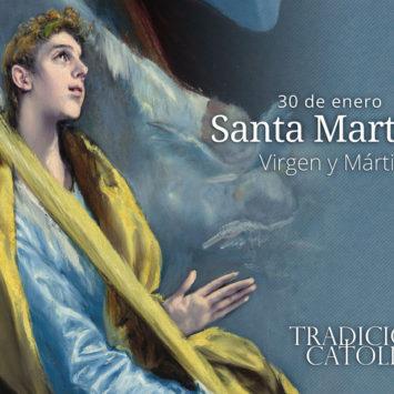 30 de enero: Santa Martina
