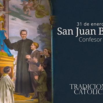 31 de enero: San Juan Bosco