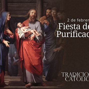 2 de febrero: Fiesta de la Purificación
