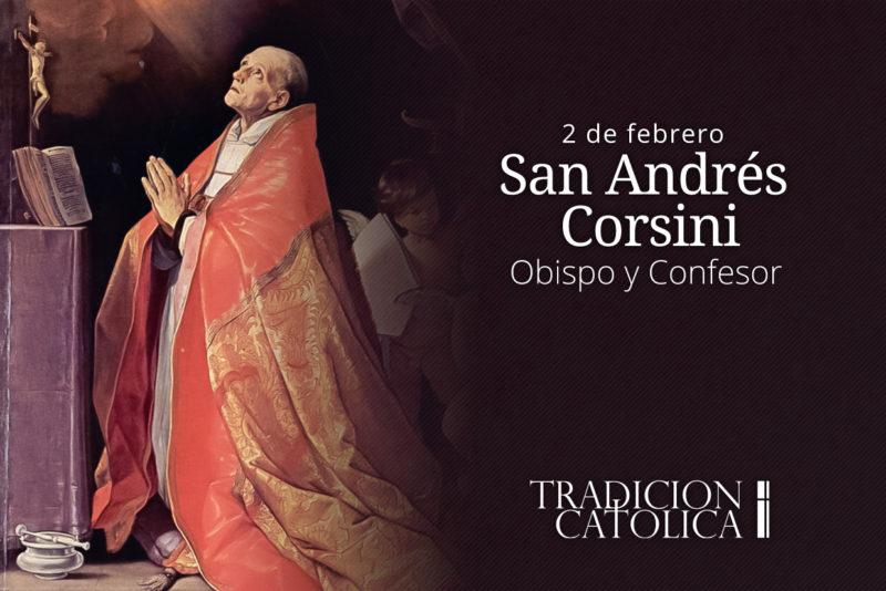 4 de febrero: San Andrés Corsini