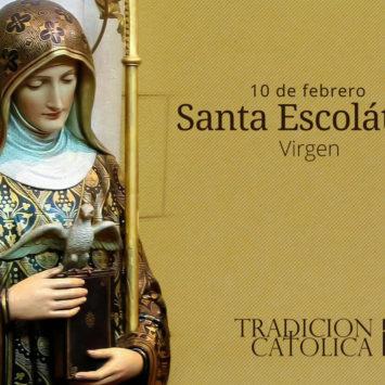 10 de febrero: Santa Escolástica