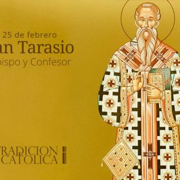 25 de febrero: San Tarasio