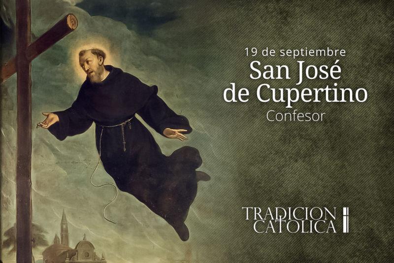 18 de septiembre: San José de Cupertino