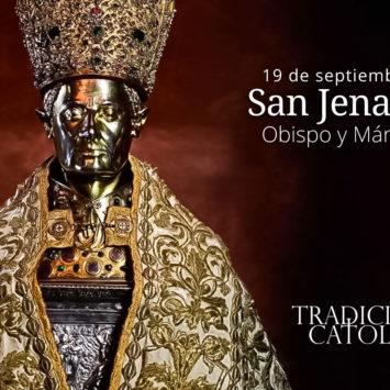 19 de septiembre: San Jenaro y compañeros
