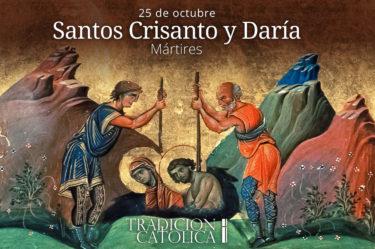 Santos Crisanto y Daría