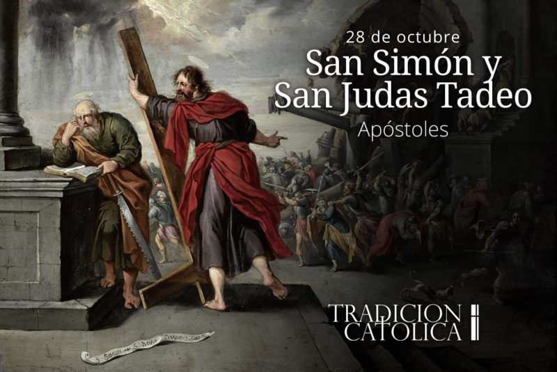 28 de octubre: San Simón y San Judas Tadeo