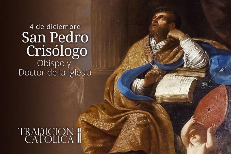 4 de diciembre: San Pedro Crisólogo