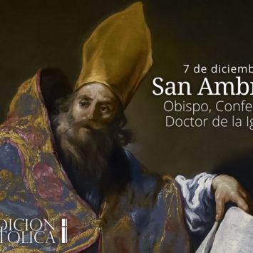 7 de diciembre: San Ambrosio