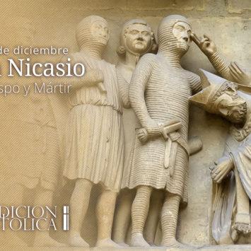 14 de Diciembre: San Nicasio