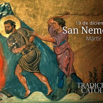 19 de diciembre: San Nemesión