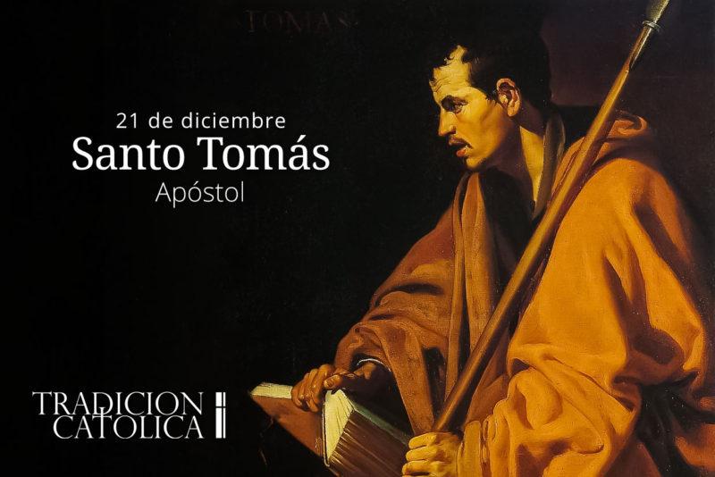 21 de diciembre: Santo Tomás