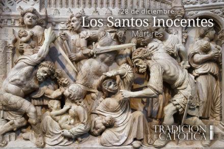 28 de diciembre: Los Santos Inocentes
