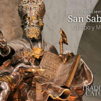 30 de diciembre: San Sabino