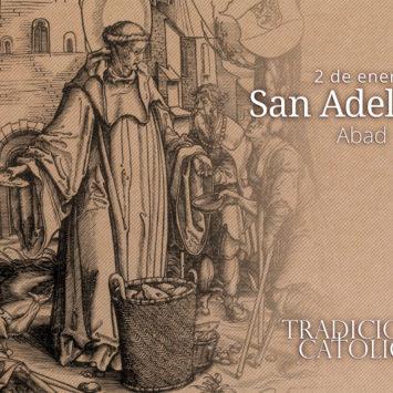 2 de enero: San Adelardo