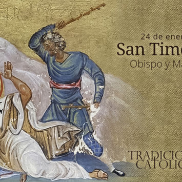 24 de enero: San Timoteo